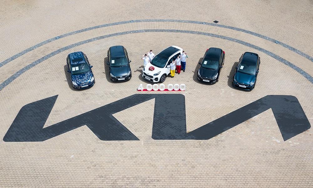 Kia hits 4 million vehicle production milestone in Europe