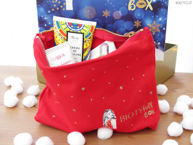 biotyfull box decembre 2018 la festive packaging