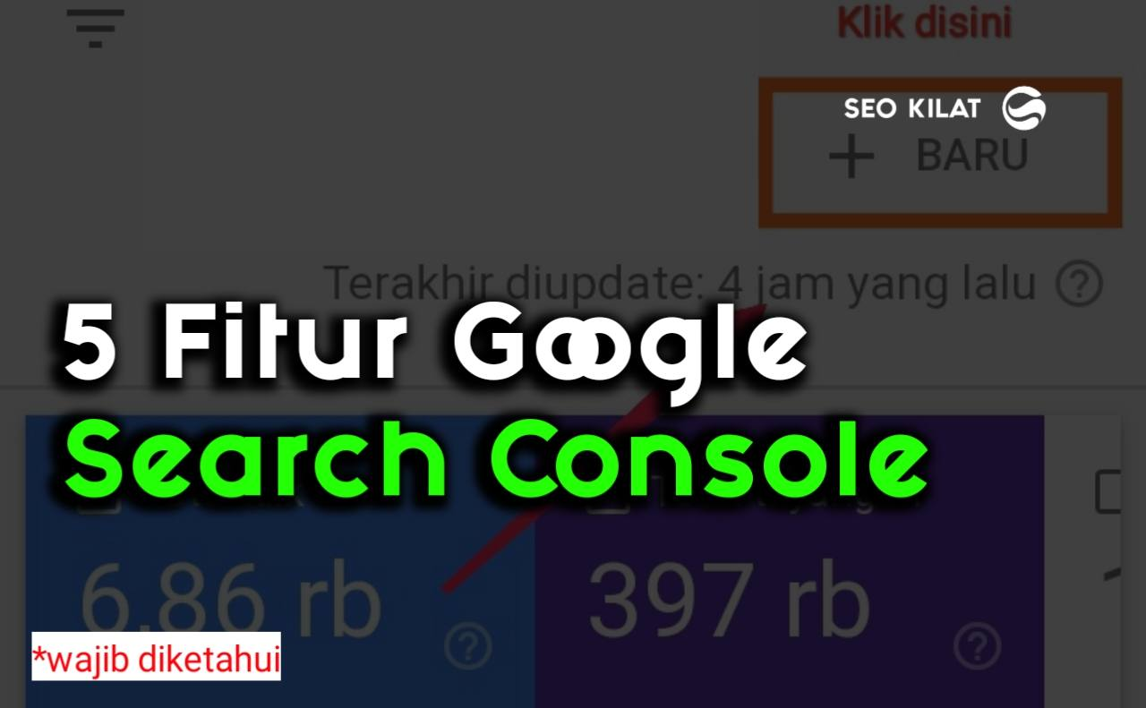 Fitur Google search Console