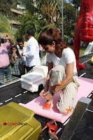 Bollywood Actress Shilpa Shetty Pos at Yoga Posed Statue Inauguration .COM 0010.jpg