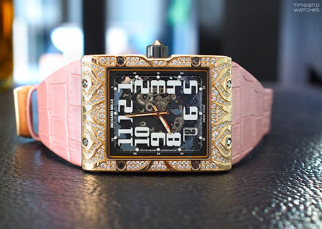Richard Mille RM 016 Automatic Extra Flat Diamond Set