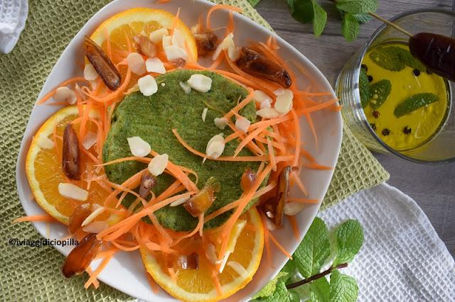Insalata marocchina di carote e arance