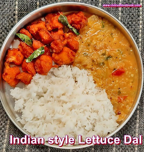 Salad Dal recipe