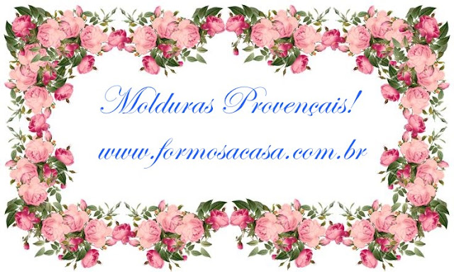 Molduras Provençais de Gesso