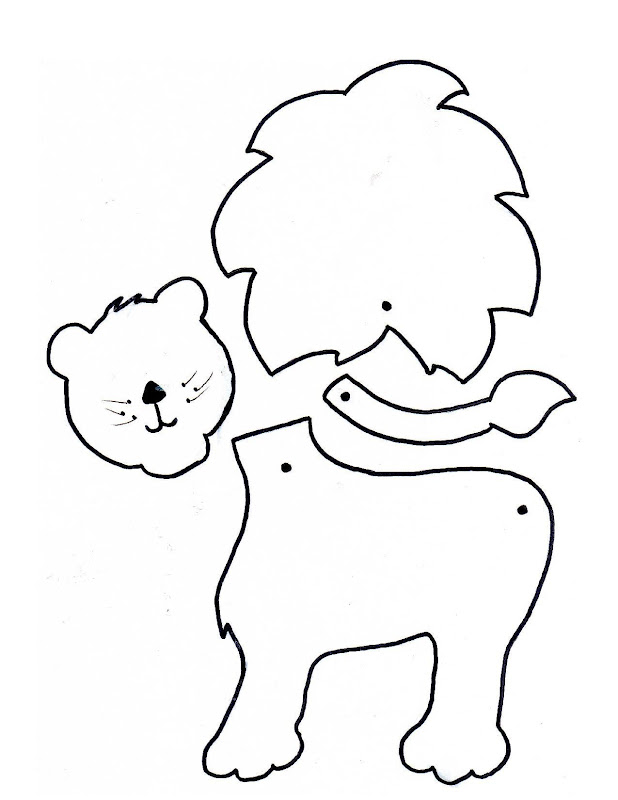 Jardim da Tia Di♥: Fábula O leão e o javali