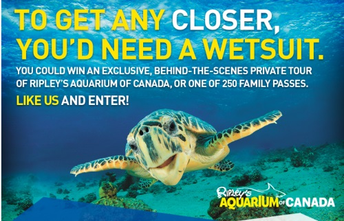 discount coupons ripleys aquarium toronto