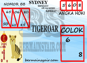 Kode syair Sydney Minggu 18 Oktober 2020 304