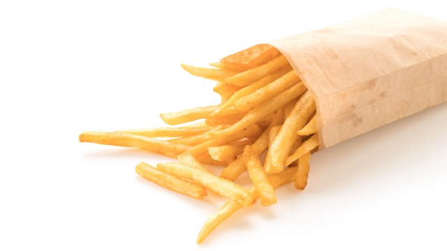 calories in a sweet potato fries