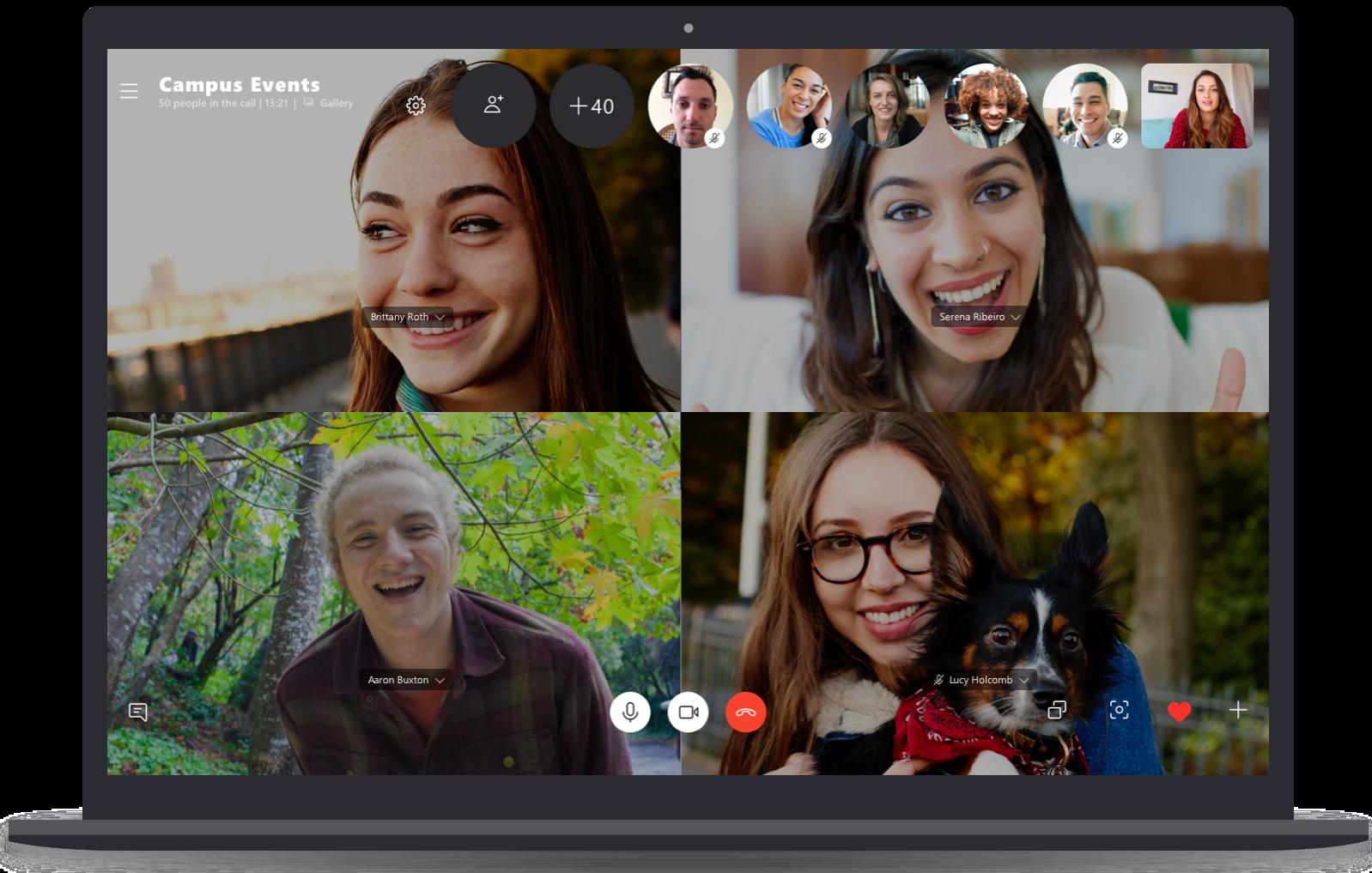 Impostare uno sfondo predefinito su Skype