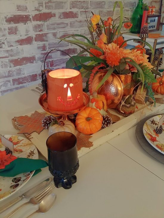 Spooky Season Versatile Fall Table Setting