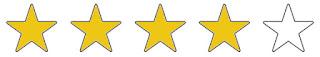 4 von 5 Sterne erhält das Buch Irrflug von Manfred Bomm von mir!