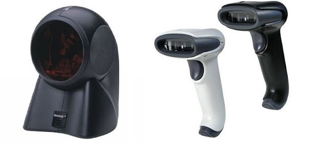 Types of barcode scanners