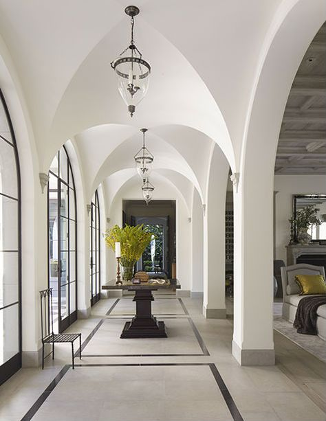 In Love with Groin Vault Ceilings - Petite Haus