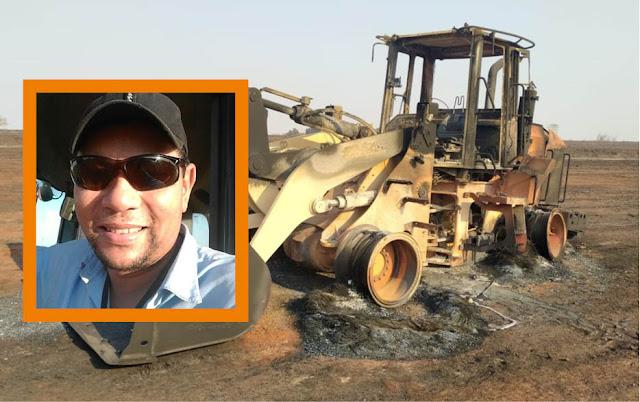 Funcionário de usina morre carbonizado ao tentar apagar fogo em canavial