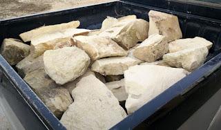 Rocks for a rockery