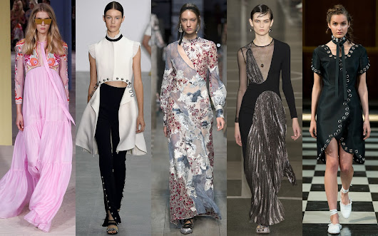 #LFW : MY FAVORITE SPRING/SUMMER 2017 COLLECTIONS