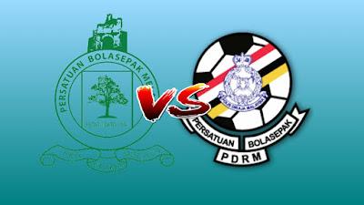 Live Streaming Melaka United vs PDRM FA Piala Malaysia 4.8.2019