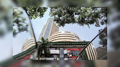 Sensex sees some recovery after falling nearly 400 points