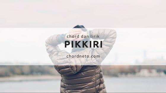 chord pikkiri permata trio dan artinya