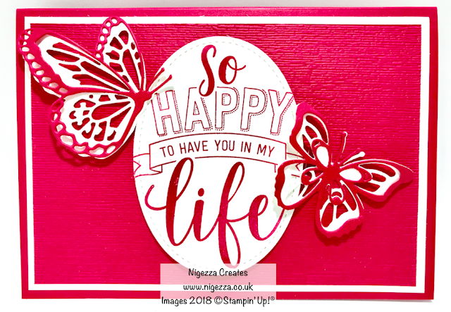 Amazing life, butterfly beauty, Stampin Up