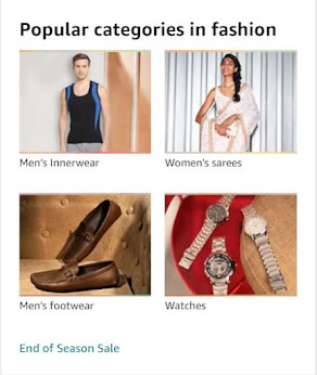 Popular categories in fashion