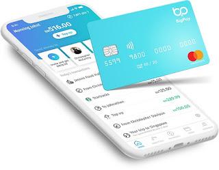 BigPay Ewallet Credit Card