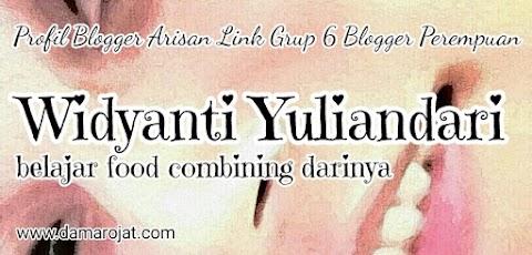 Widyanti Yuliandari, Belajar Food Combining Darinya