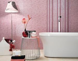 Hermos baño rosa
