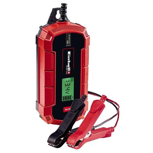 Универсално зарядно за акумулатор Einhell CE-BC 4 M, Волтаж 12 V, Зареждащ ток минимум - максимум 1 A - 4 A