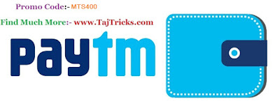 Paytm Offer  Get Rs.20 Cashback on Recharges and bill payment of Rs.400 or more.