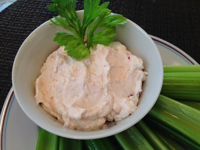 Livliga Cream Cheese Dip in Halsa Bowl