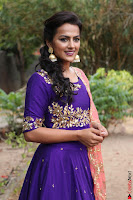 Actress Shraddha Srinath in Purple Chania Choli Cute Pics ~  Exclusive 40.jpg