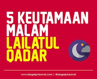 5 Manfaat Keutamaan Malam Lailatul Qadar