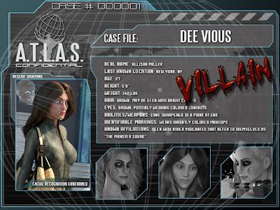 Heroes - Villains: Dee Vious for Genesis 3 Female