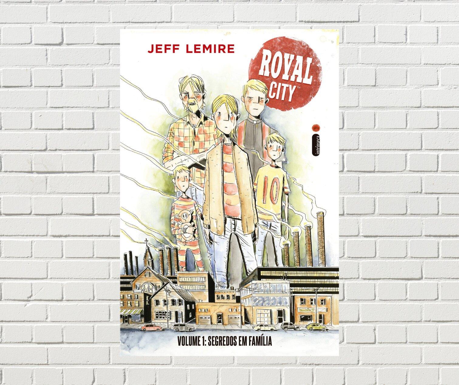 Resenha: Royal City: Segredos em família, Volume 1, de Jeff Lemire