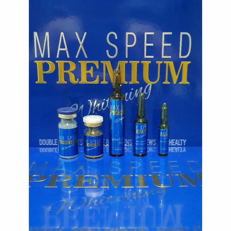 Max Speed Premium Whitening Infus