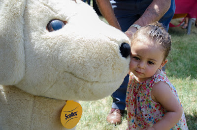 Perro Scottex para photocall en el 40 aniversario de Kimberly Clark