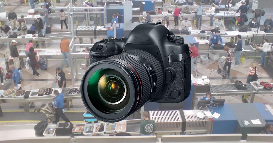 Cơ quan an ninh vận chuyển Mỹ yêu cầu thiết bị máy ảnh phải để riêng khi kiểm tra an ninh sân bay