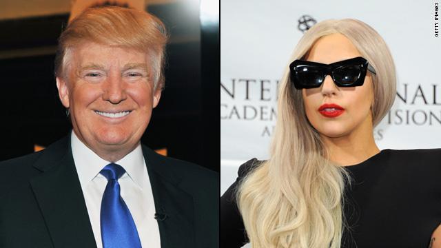 Lady Gaga protestó contra la victoria presidencial de Donald Trump