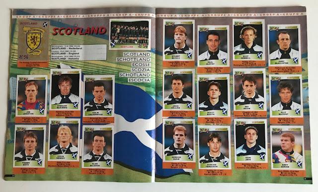 Figurine Scozia Euro 96