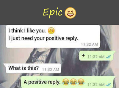Knock Knock Positive Reply