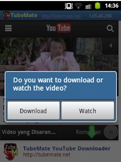 Cara Mengambil Video Youtube Dengan Smartphone