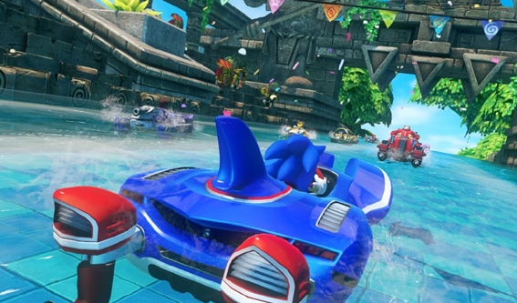 Sonic and All-Stars Racing Transformed Game Ringan