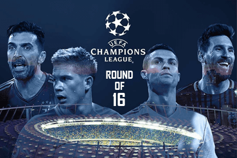 Liga Champions Round of 16