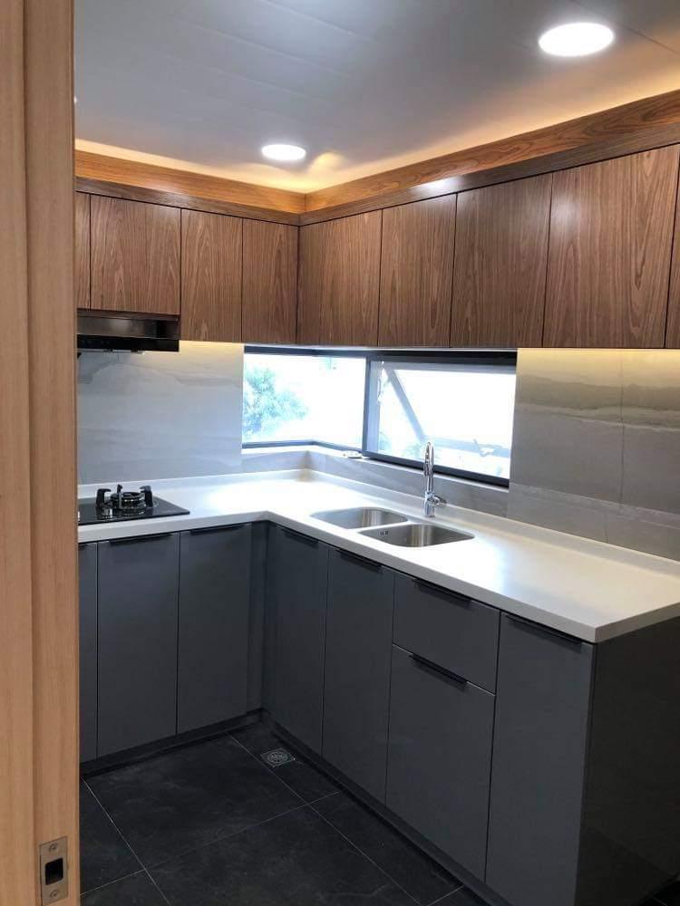 Amazing Open Glass Kitchen Set Kings Peak