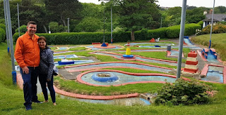 Victoria Park Crazy Golf course in Scarborough