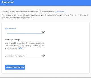ubah sandi gmail
