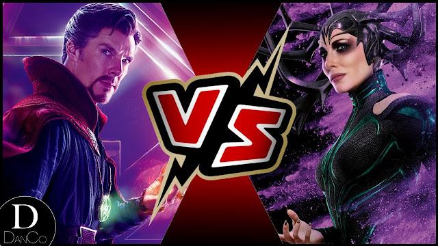 Hella vs Doctor Strange