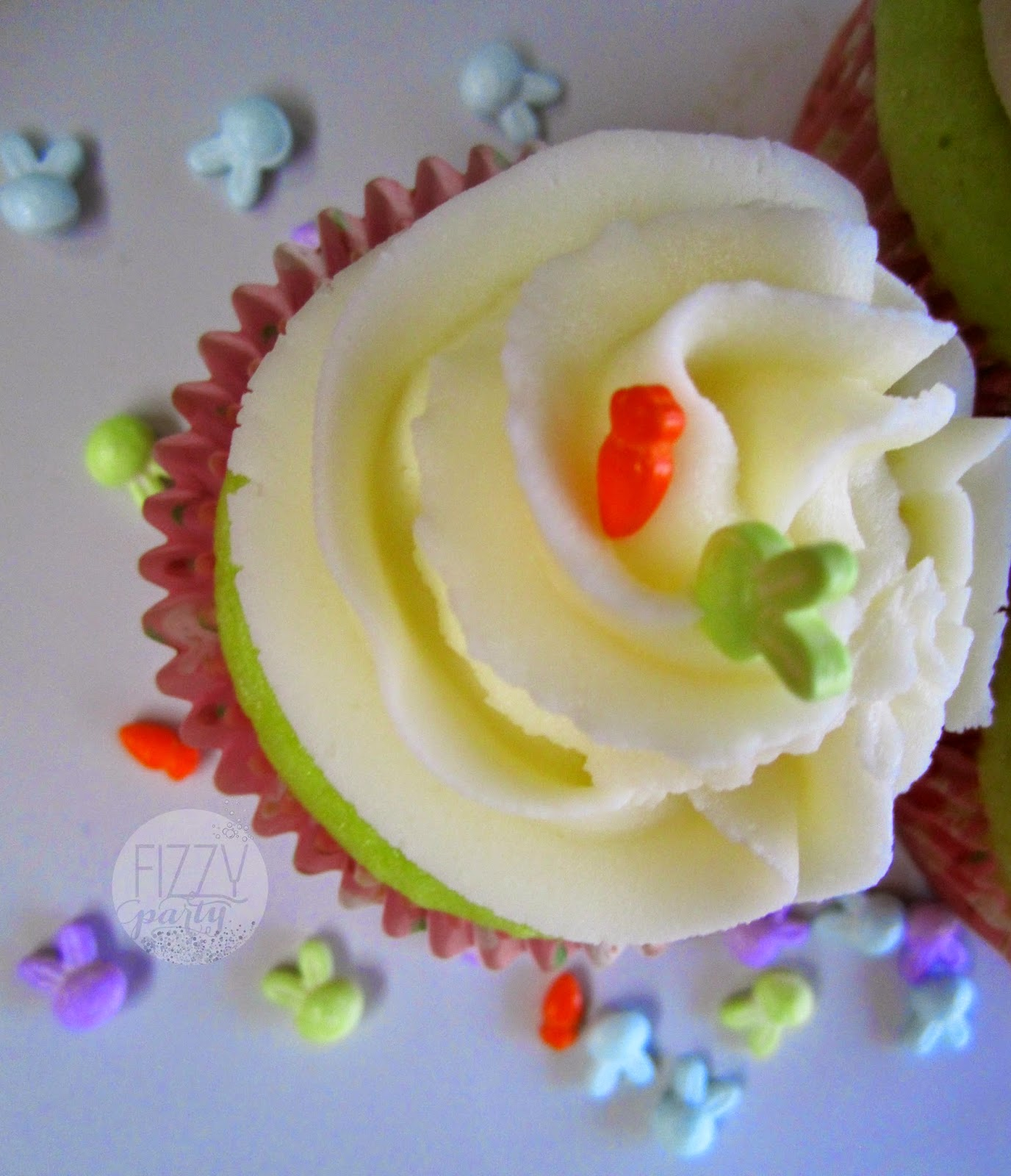 Spring cupcakes by Fizzy Party