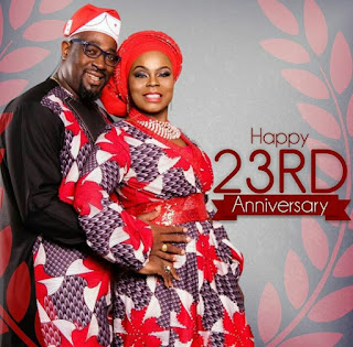"Gospel Minister ""Isabella Melodies""  and husband celebrate's 23years wedding anniversary."